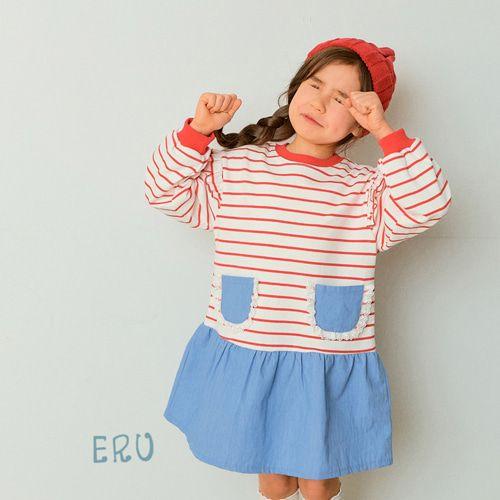 E.RU - BRAND - Korean Children Fashion - #Kfashion4kids - Laura One-piece