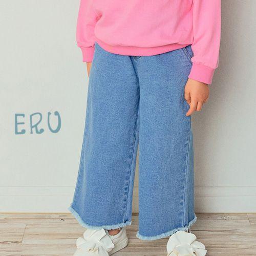 E.RU - BRAND - Korean Children Fashion - #Kfashion4kids - Lucy Denim Span Pants