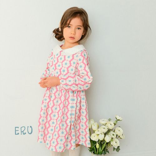 E.RU - BRAND - Korean Children Fashion - #Kfashion4kids - Banava One-piece