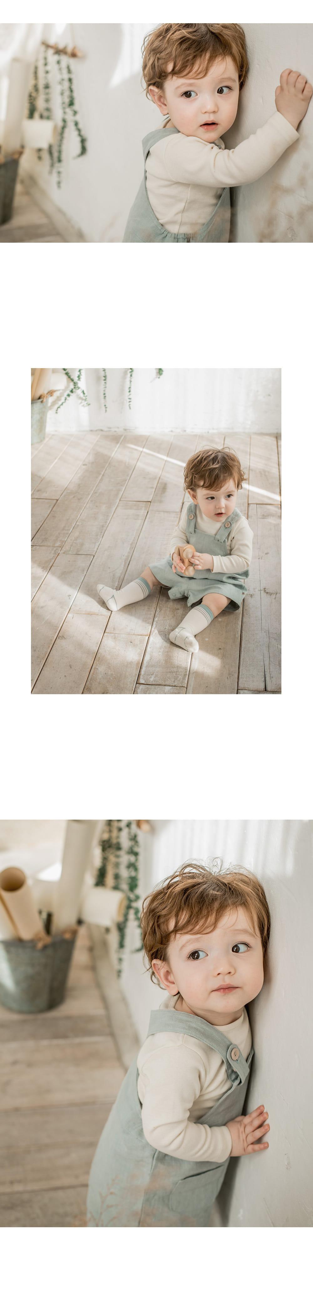 HAPPY PRINCE - Korean Children Fashion - #Kfashion4kids - Louis Basic Tee - 2