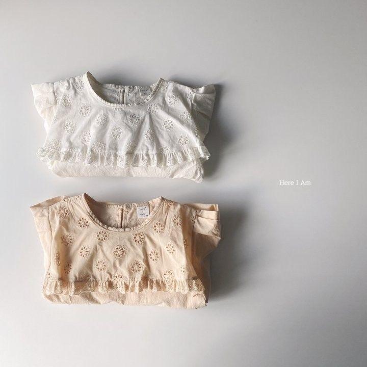 HERE I AM - Korean Children Fashion - #Kfashion4kids - Flare One-piece