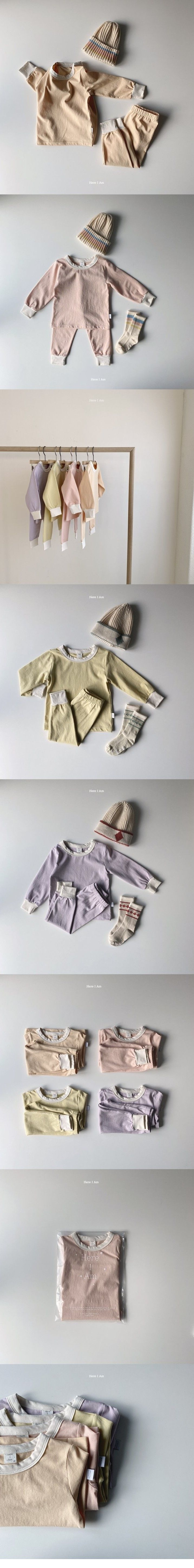 HERE I AM - Korean Children Fashion - #Kfashion4kids - Milk Loungwear Set - 2
