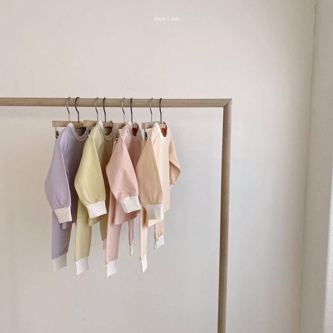 HERE I AM - BRAND - Korean Children Fashion - #Kfashion4kids - Milk Loungwear Set