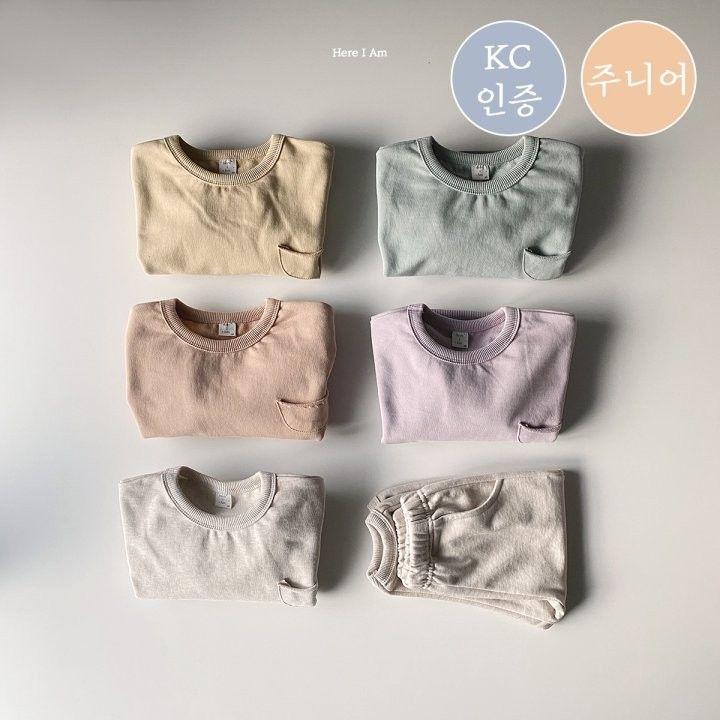 HERE I AM - Korean Children Fashion - #Kfashion4kids - Weekly Top Bottom Set