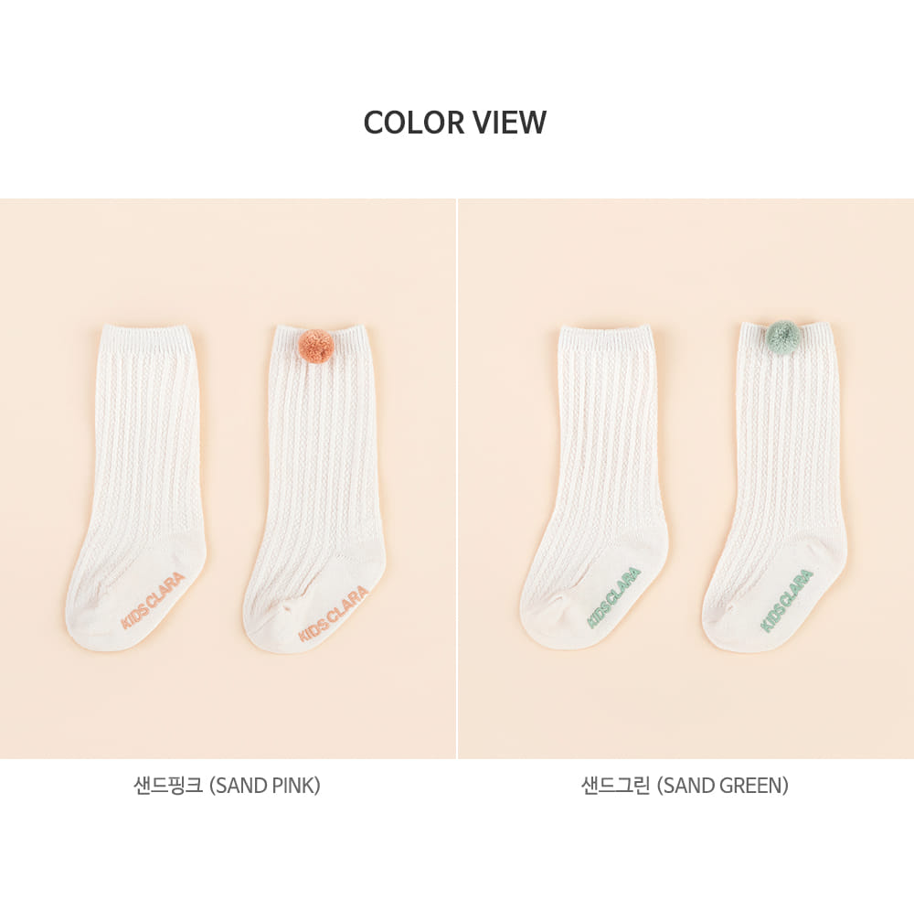 KIDS CLARA - Korean Children Fashion - #Kfashion4kids - Creed Knee Socks [set of 5] - 8