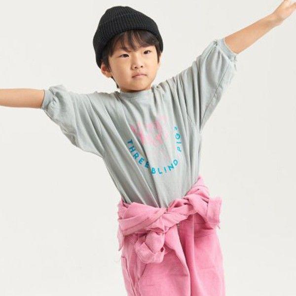 KURENARD - BRAND - Korean Children Fashion - #Kfashion4kids - Pigment Long Tee