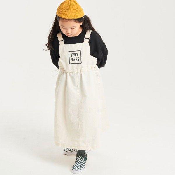 KURENARD - BRAND - Korean Children Fashion - #Kfashion4kids - Pay Suspender Skirt