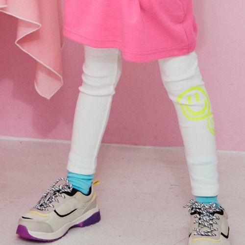 LILAS - BRAND - Korean Children Fashion - #Kfashion4kids - White Leggings