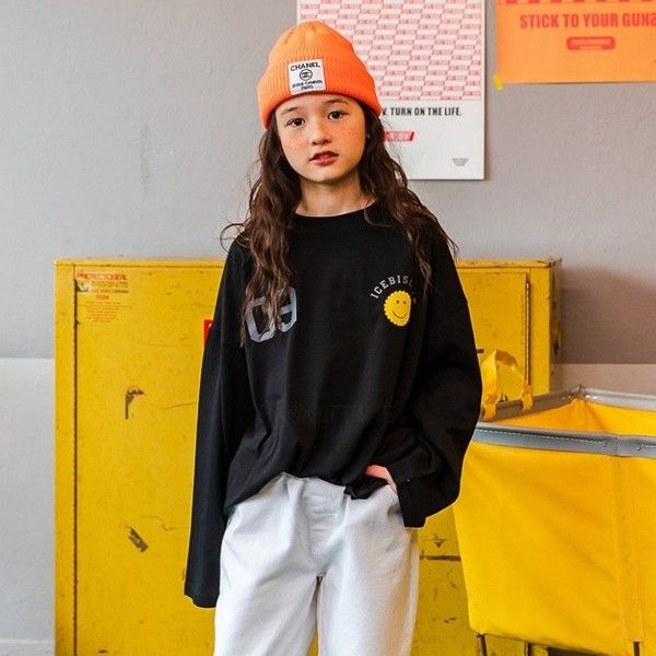 MATILDA & LEE - BRAND - Korean Children Fashion - #Kfashion4kids - 09 Smile Tee