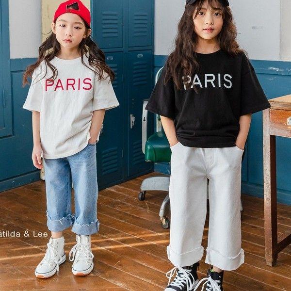 MATILDA & LEE - BRAND - Korean Children Fashion - #Kfashion4kids - Paris Tee