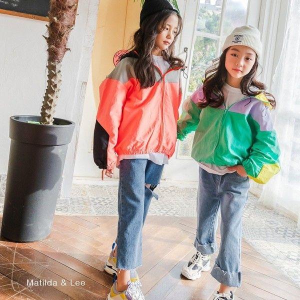 MATILDA & LEE - BRAND - Korean Children Fashion - #Kfashion4kids - Colored Jumper