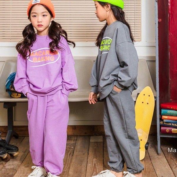 MATILDA & LEE - BRAND - Korean Children Fashion - #Kfashion4kids - Macaron Top Bottom Set