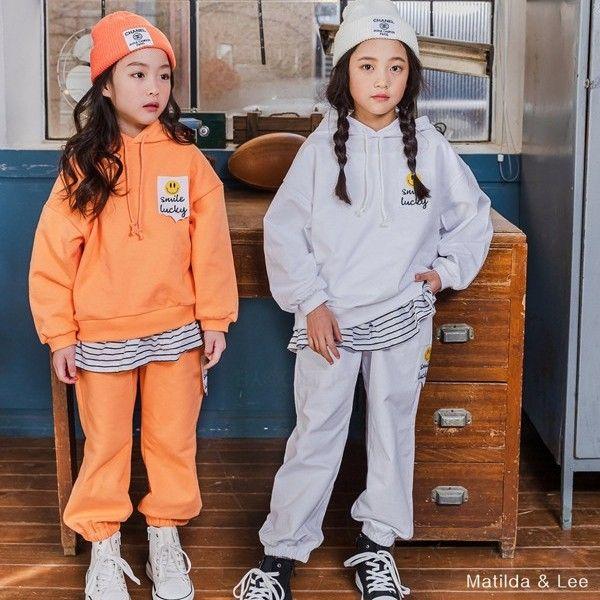 MATILDA & LEE - BRAND - Korean Children Fashion - #Kfashion4kids - Label Hood Tee