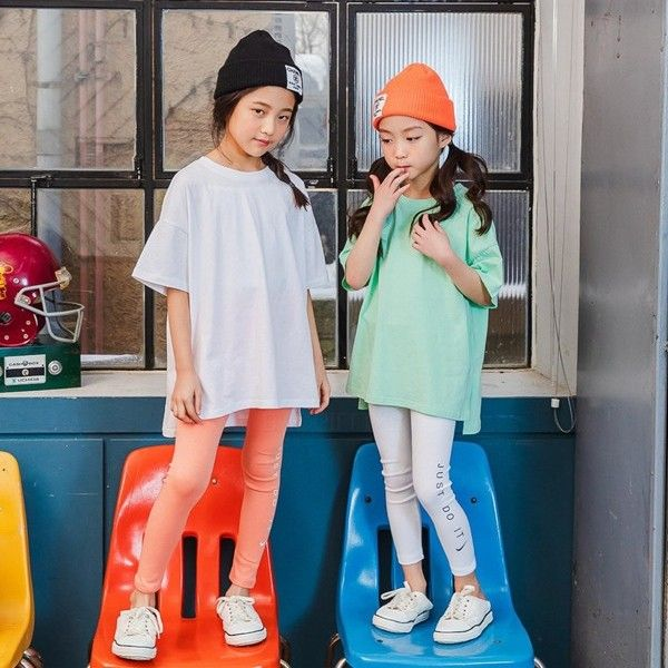 MATILDA & LEE - BRAND - Korean Children Fashion - #Kfashion4kids - Label Long Tee