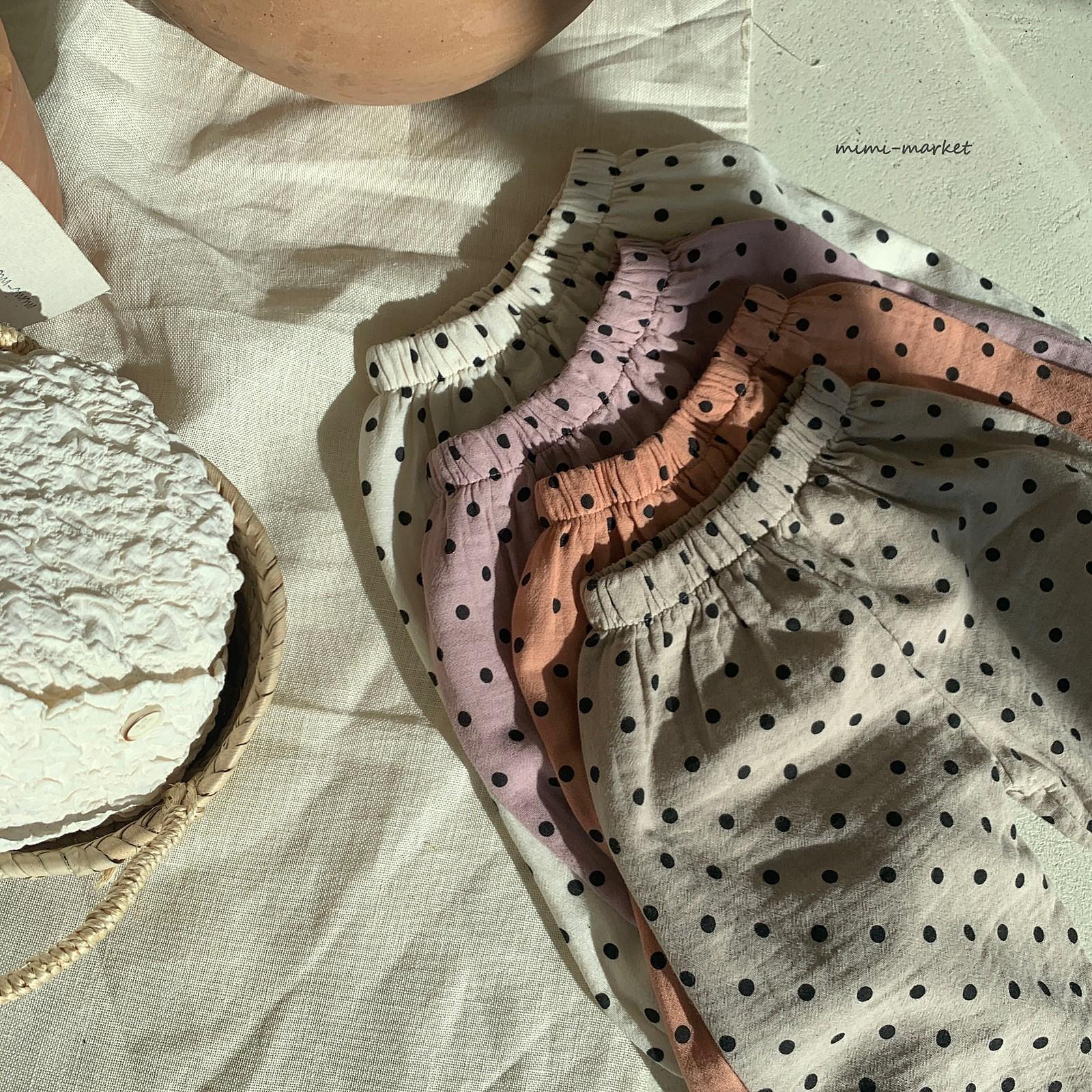 MIMI MARKET - Korean Children Fashion - #Kfashion4kids - Armani Dot Pants