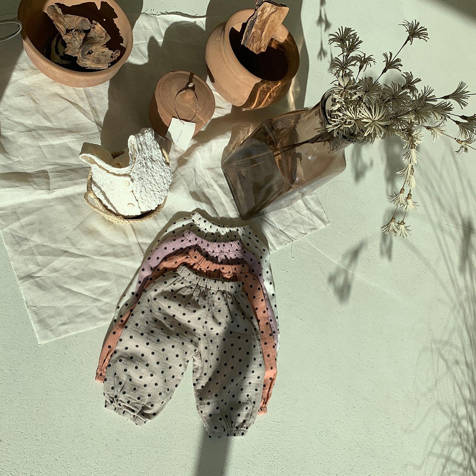 MIMI MARKET - Korean Children Fashion - #Kfashion4kids - Armani Dot Pants - 10