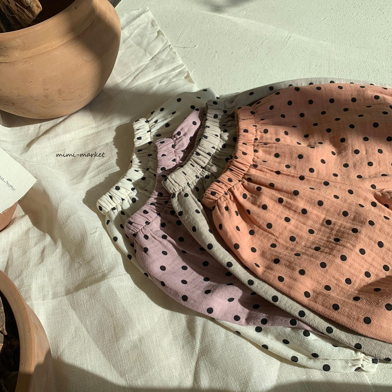 MIMI MARKET - Korean Children Fashion - #Kfashion4kids - Armani Dot Pants - 12