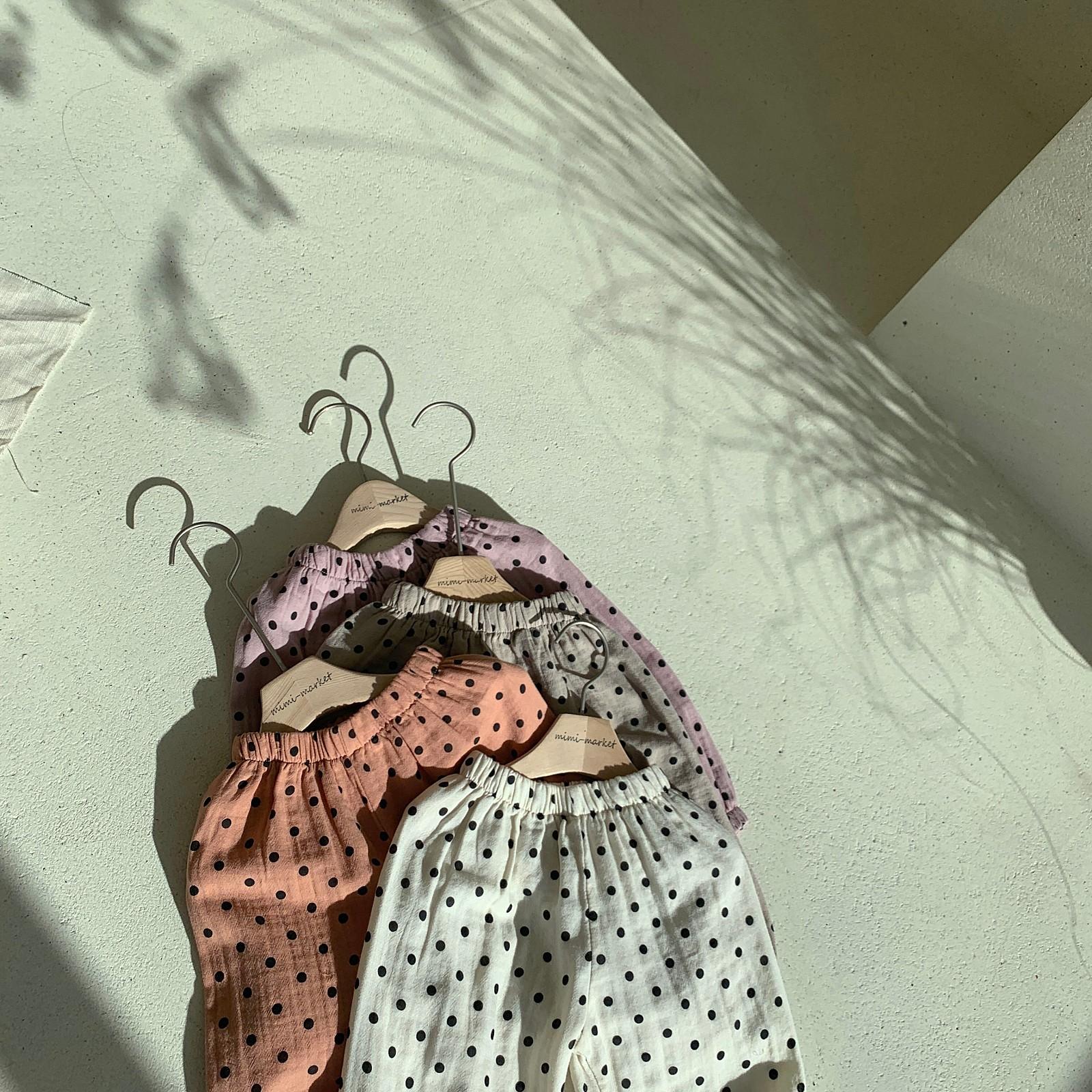 MIMI MARKET - Korean Children Fashion - #Kfashion4kids - Armani Dot Pants - 4