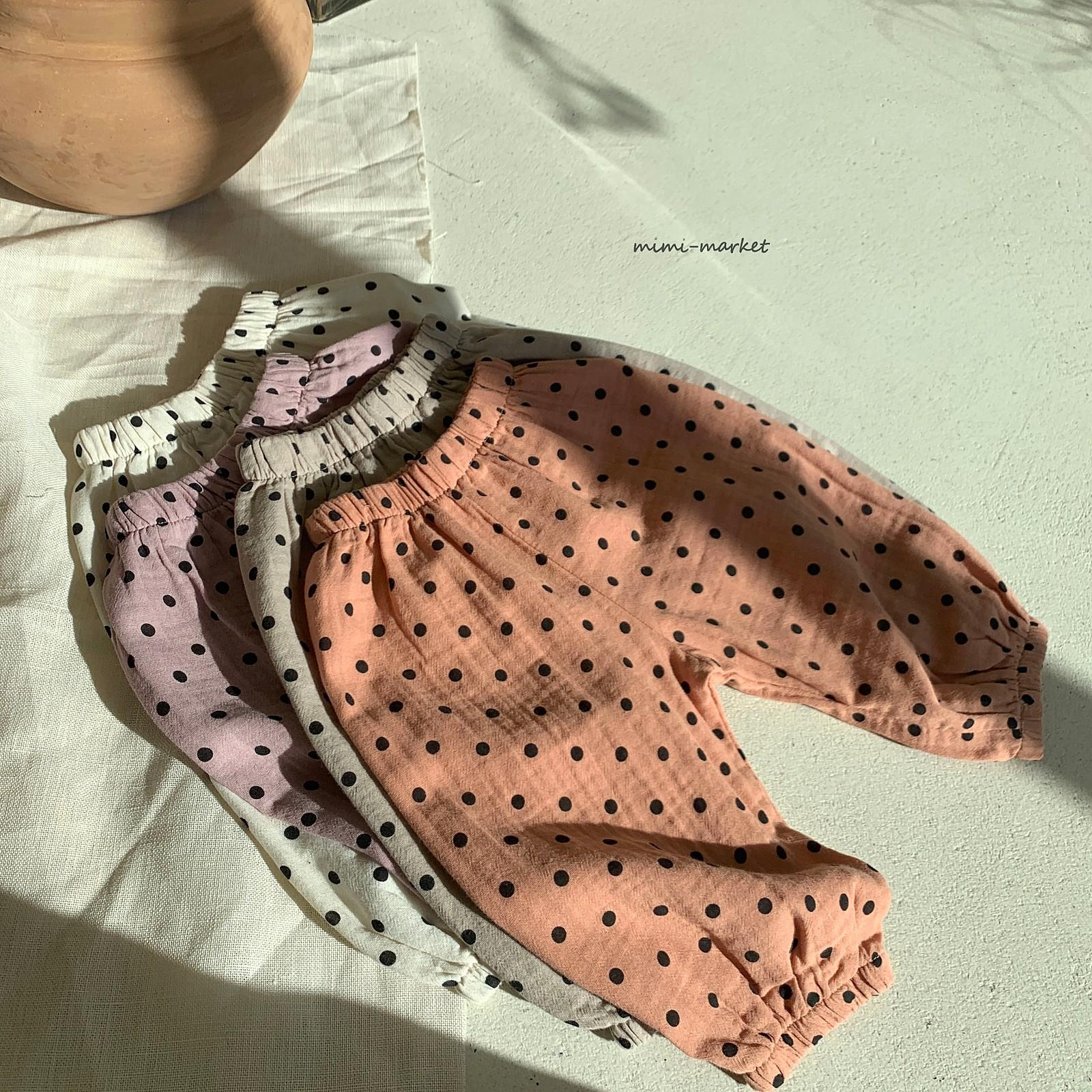 MIMI MARKET - Korean Children Fashion - #Kfashion4kids - Armani Dot Pants - 8