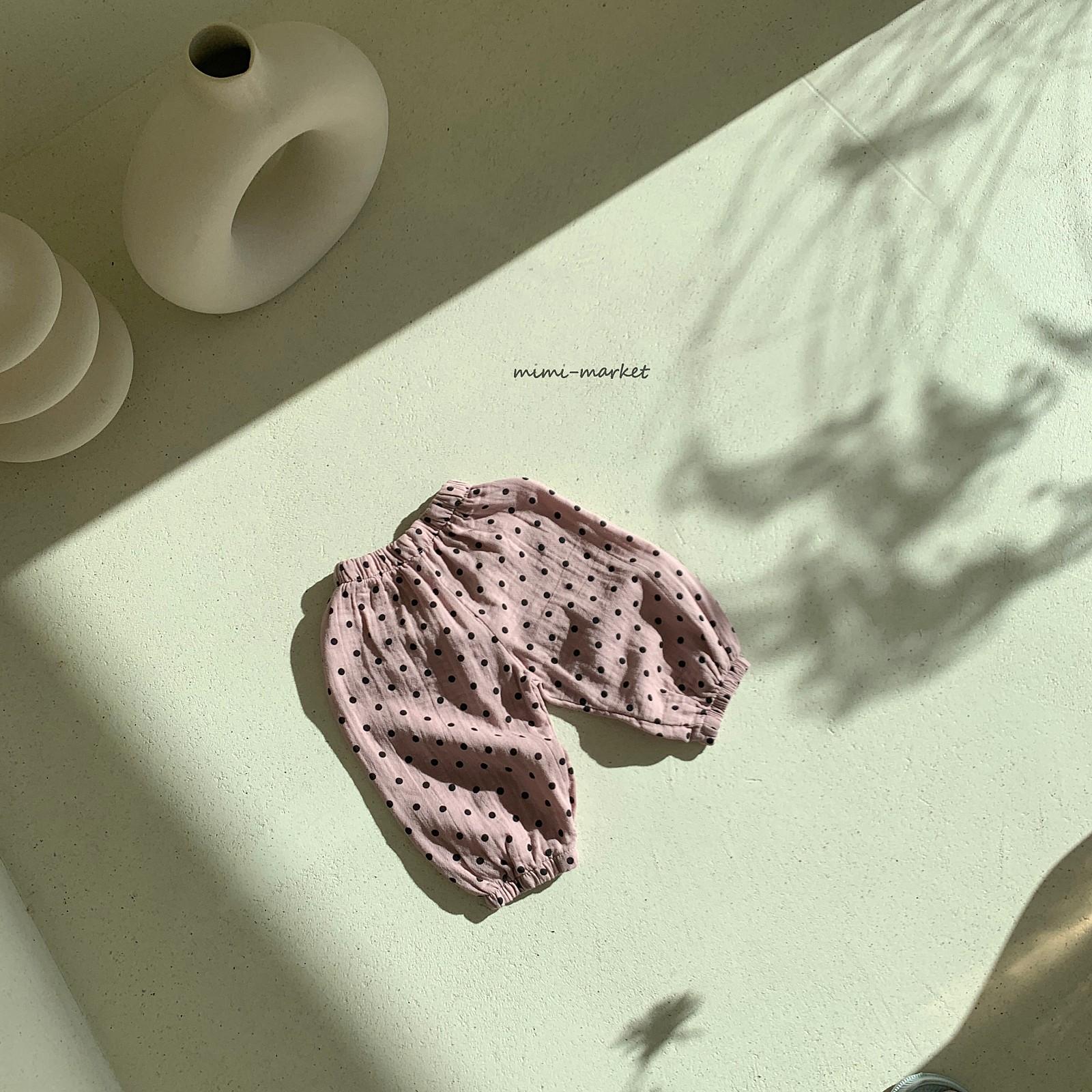 MIMI MARKET - Korean Children Fashion - #Kfashion4kids - Armani Dot Pants - 9
