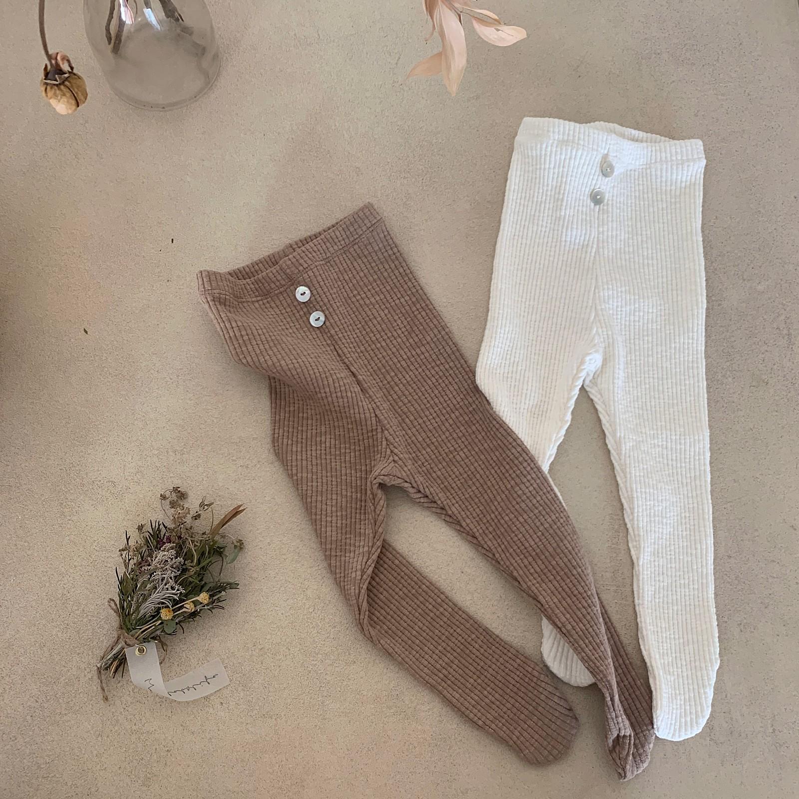 MIMI MARKET - Korean Children Fashion - #Kfashion4kids - El Foot Leggings - 3