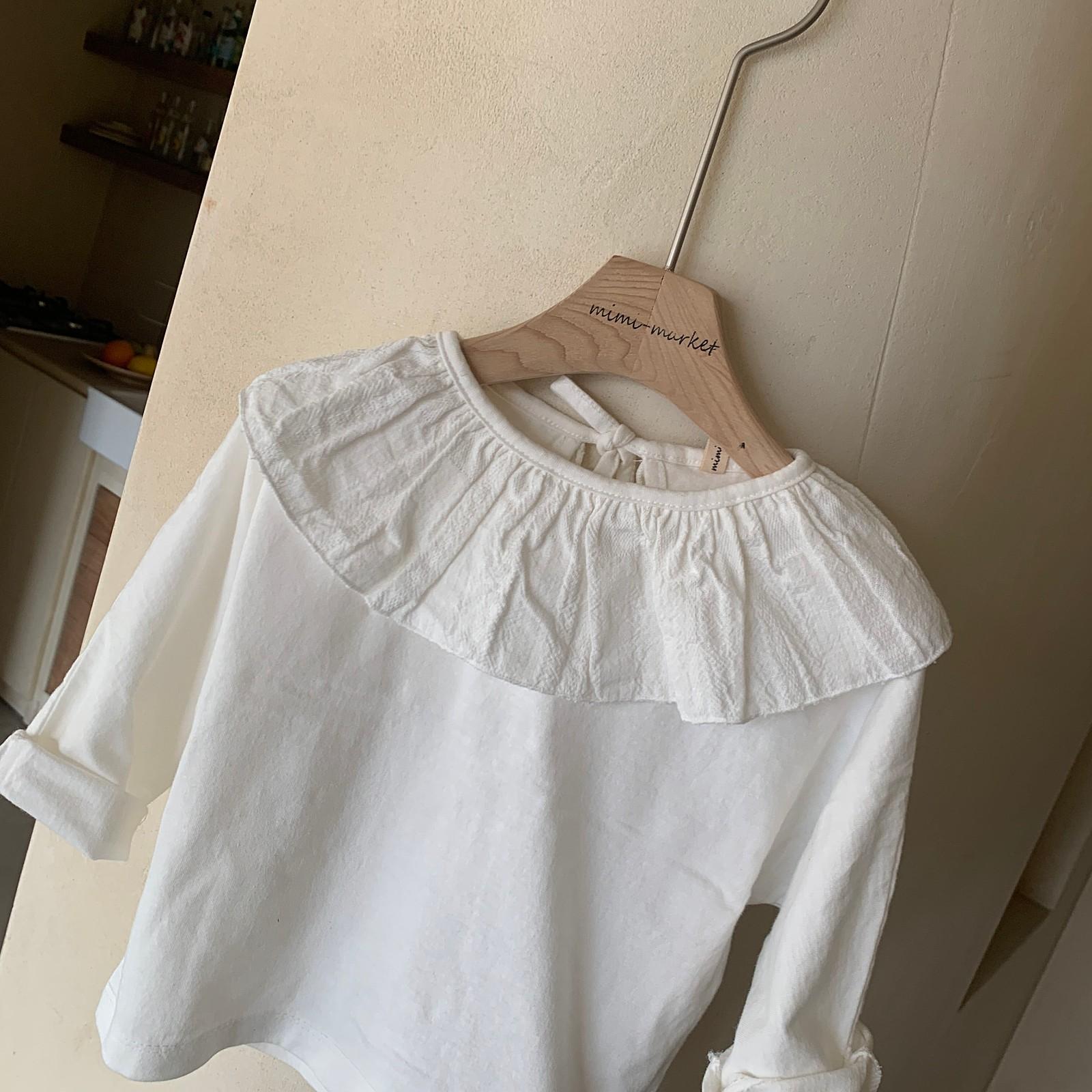 MIMI MARKET - Korean Children Fashion - #Kfashion4kids - Laura Collar Tee