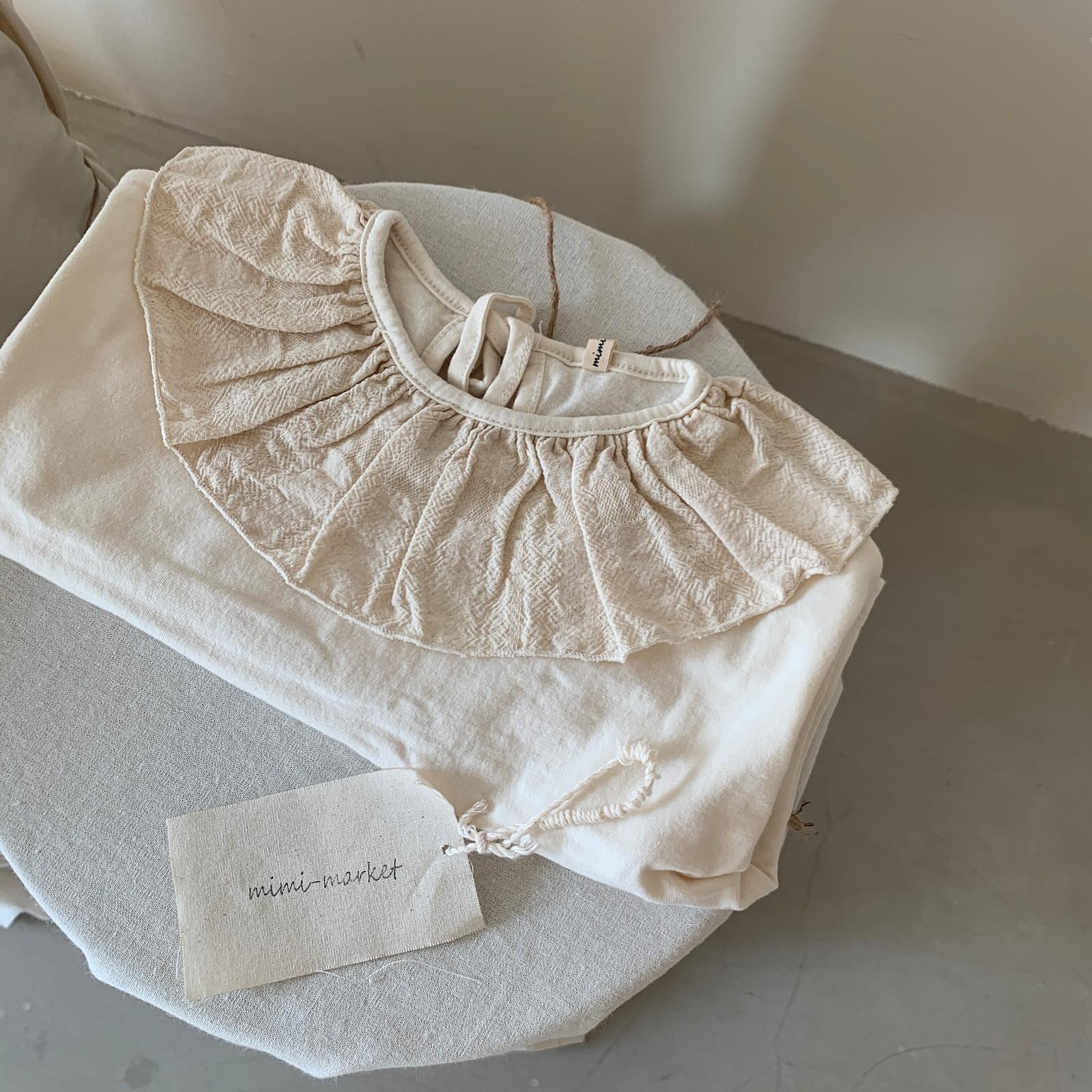 MIMI MARKET - Korean Children Fashion - #Kfashion4kids - Laura Collar Tee - 10