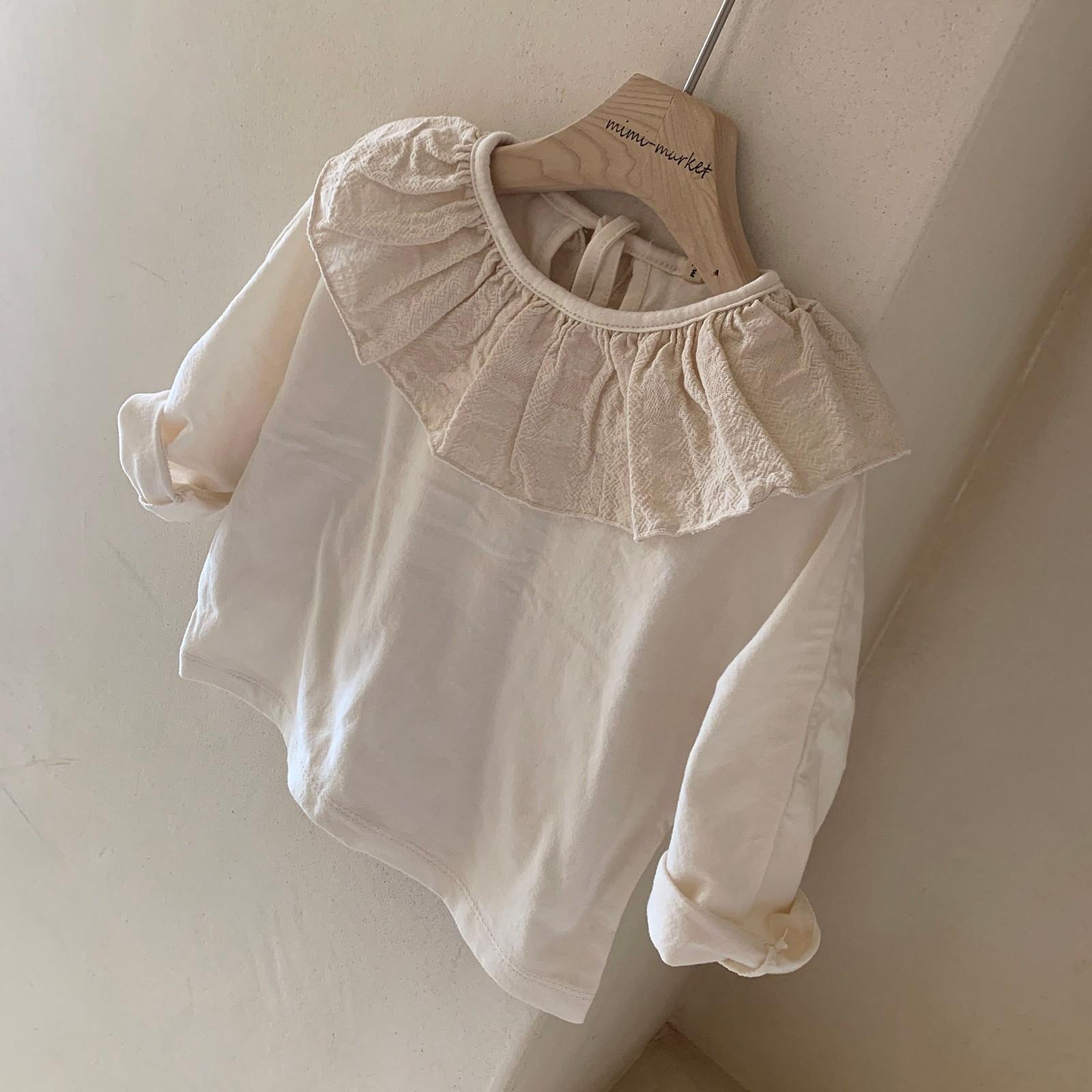 MIMI MARKET - Korean Children Fashion - #Kfashion4kids - Laura Collar Tee - 8