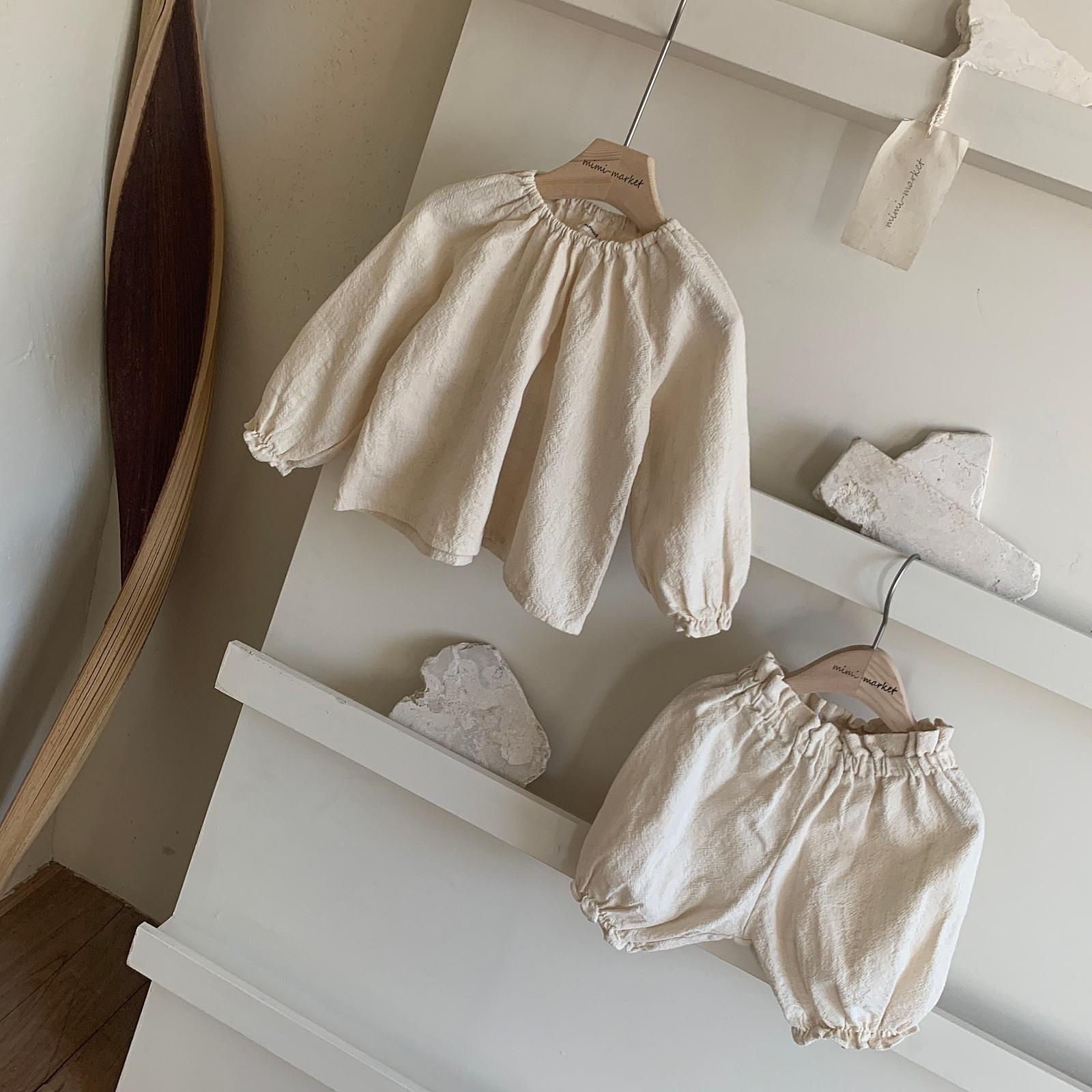MIMI MARKET - Korean Children Fashion - #Kfashion4kids - Hao Blouse Bloomer Set - 10