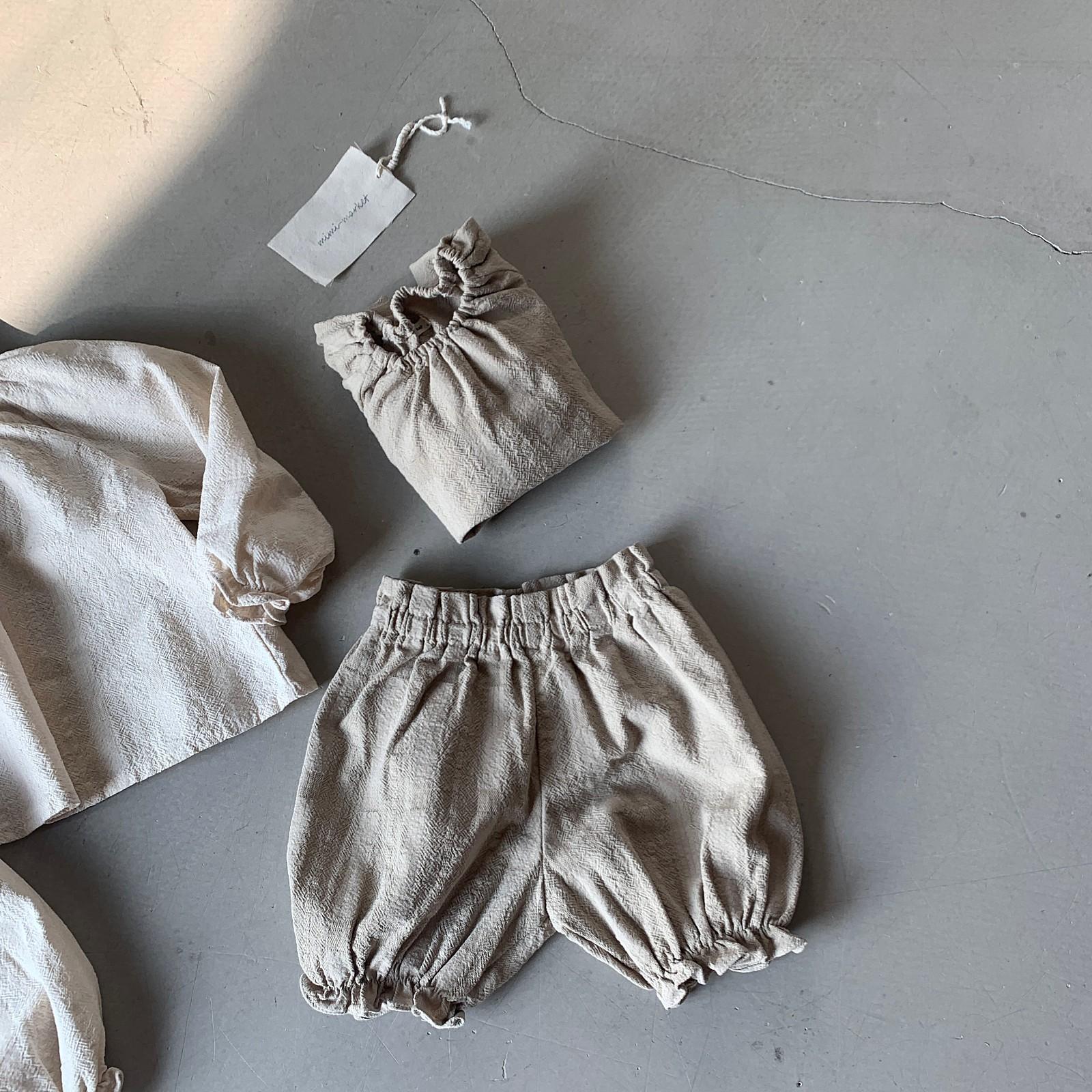 MIMI MARKET - Korean Children Fashion - #Kfashion4kids - Hao Blouse Bloomer Set - 5