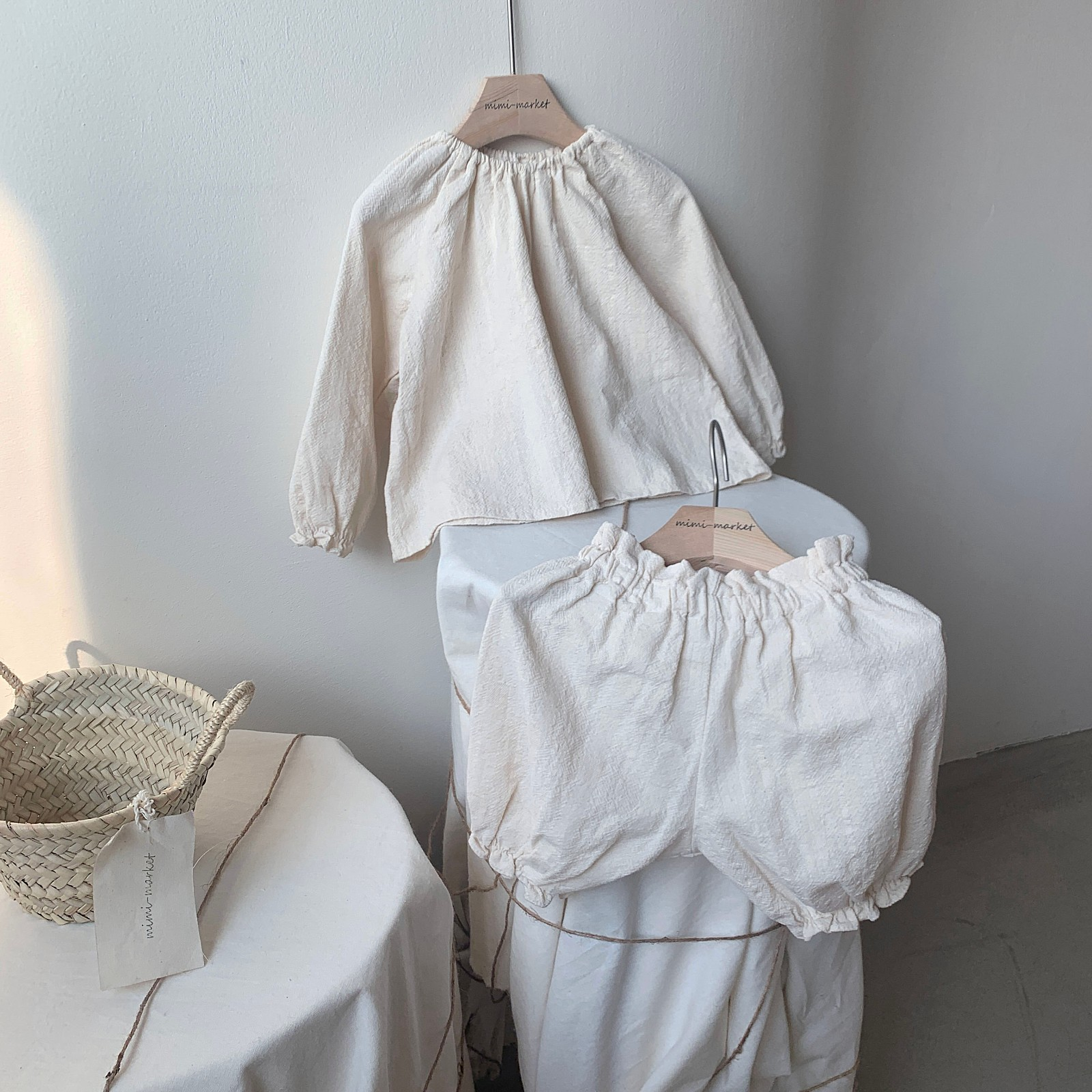 MIMI MARKET - Korean Children Fashion - #Kfashion4kids - Hao Blouse Bloomer Set - 6