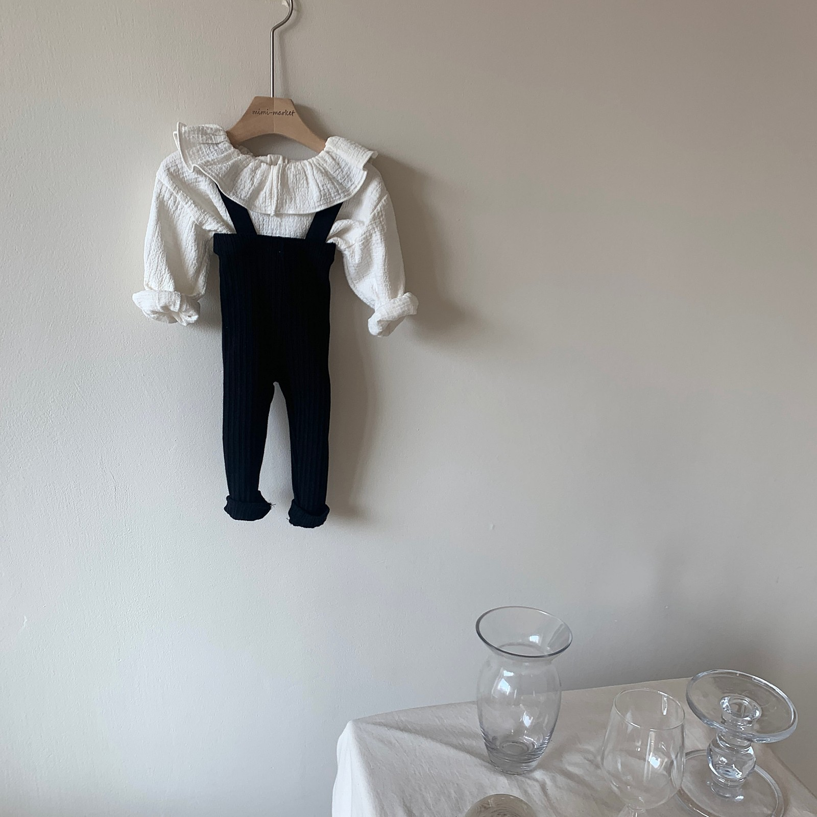 MIMI MARKET - Korean Children Fashion - #Kfashion4kids - Cozy Suspender Pants - 10