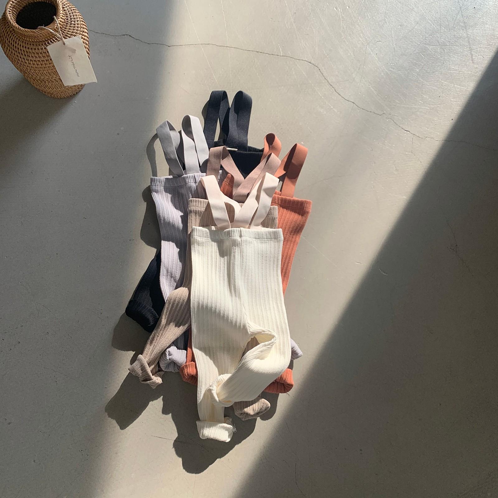 MIMI MARKET - Korean Children Fashion - #Kfashion4kids - Cozy Suspender Pants - 12