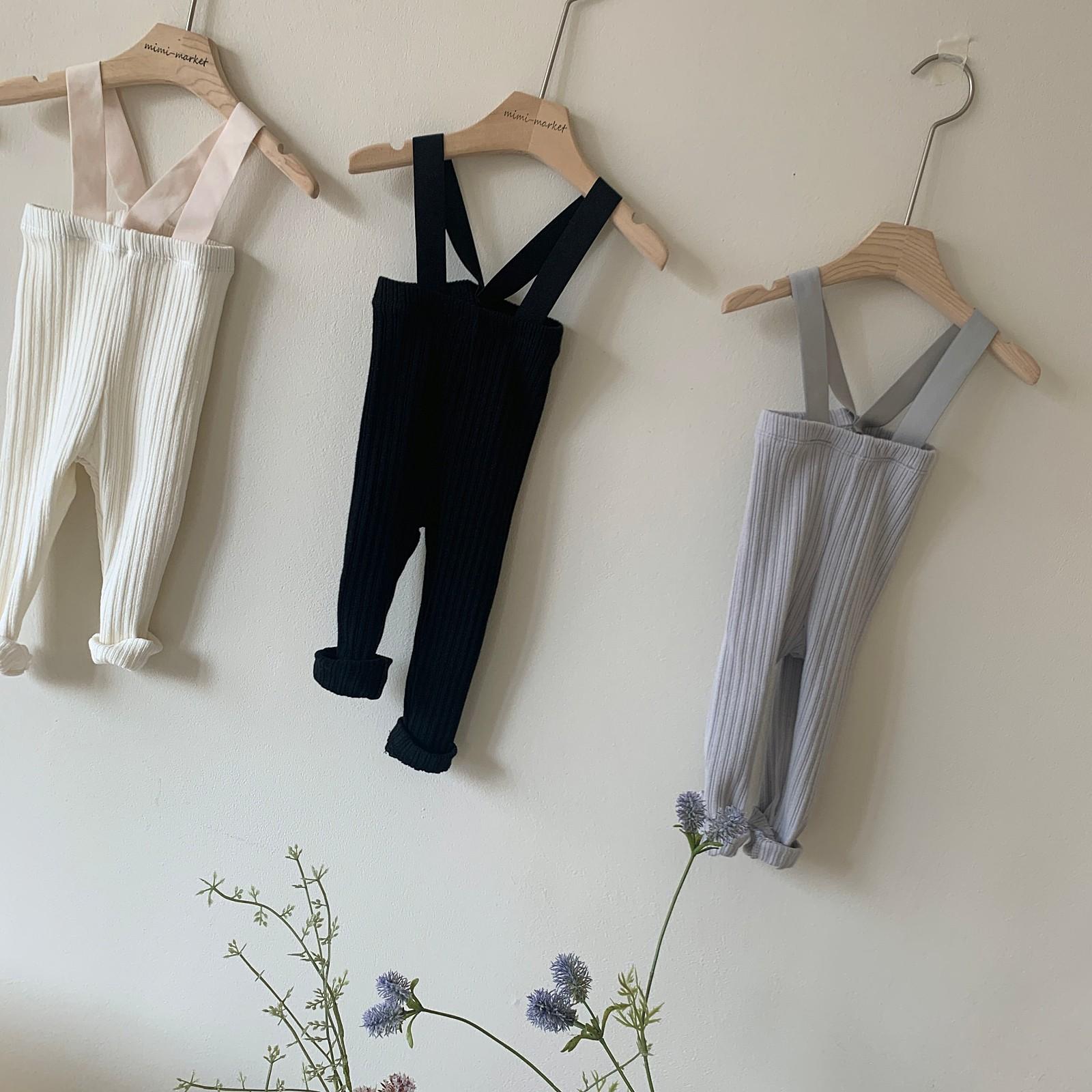 MIMI MARKET - Korean Children Fashion - #Kfashion4kids - Cozy Suspender Pants - 3