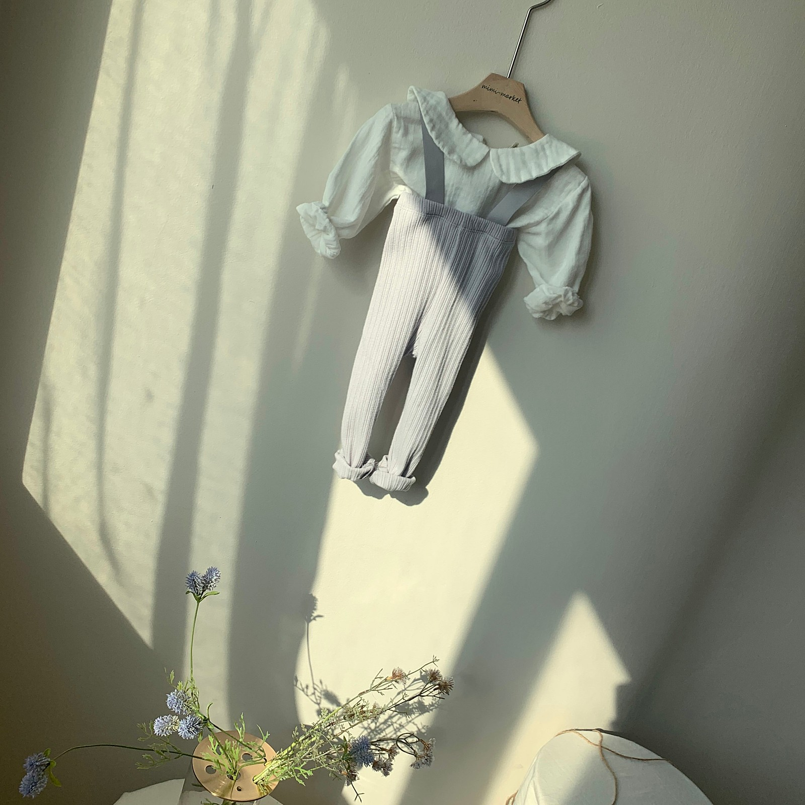 MIMI MARKET - Korean Children Fashion - #Kfashion4kids - Cozy Suspender Pants - 5
