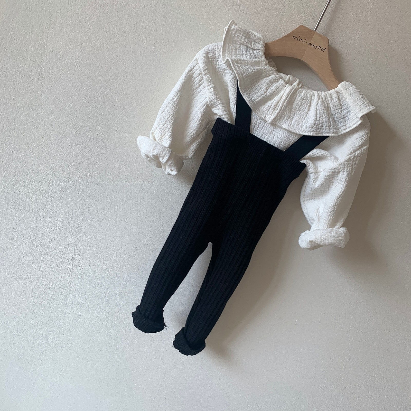 MIMI MARKET - Korean Children Fashion - #Kfashion4kids - Cozy Suspender Pants - 6