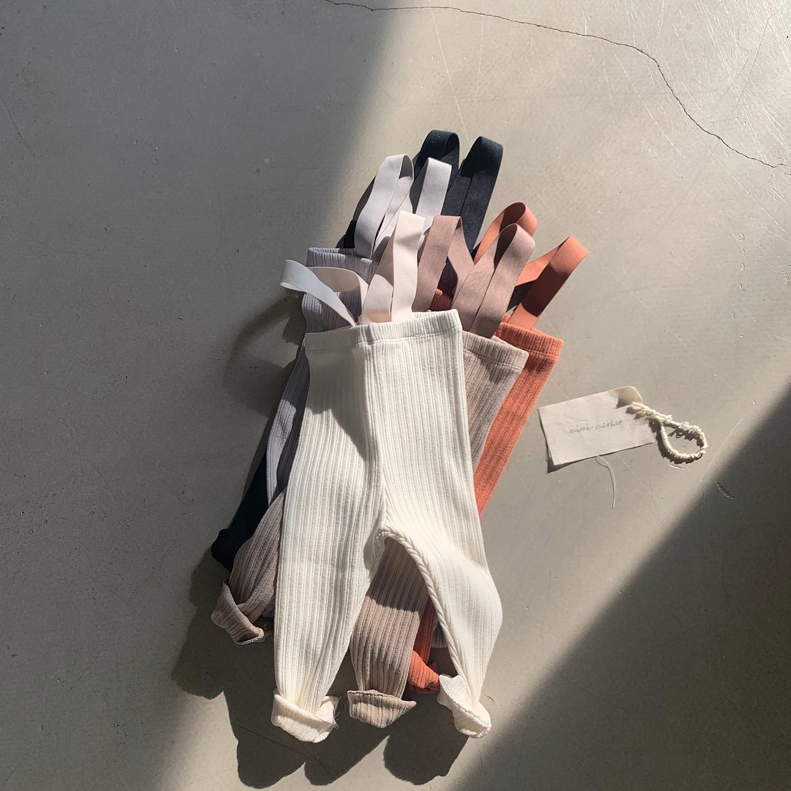 MIMI MARKET - Korean Children Fashion - #Kfashion4kids - Cozy Suspender Pants - 8