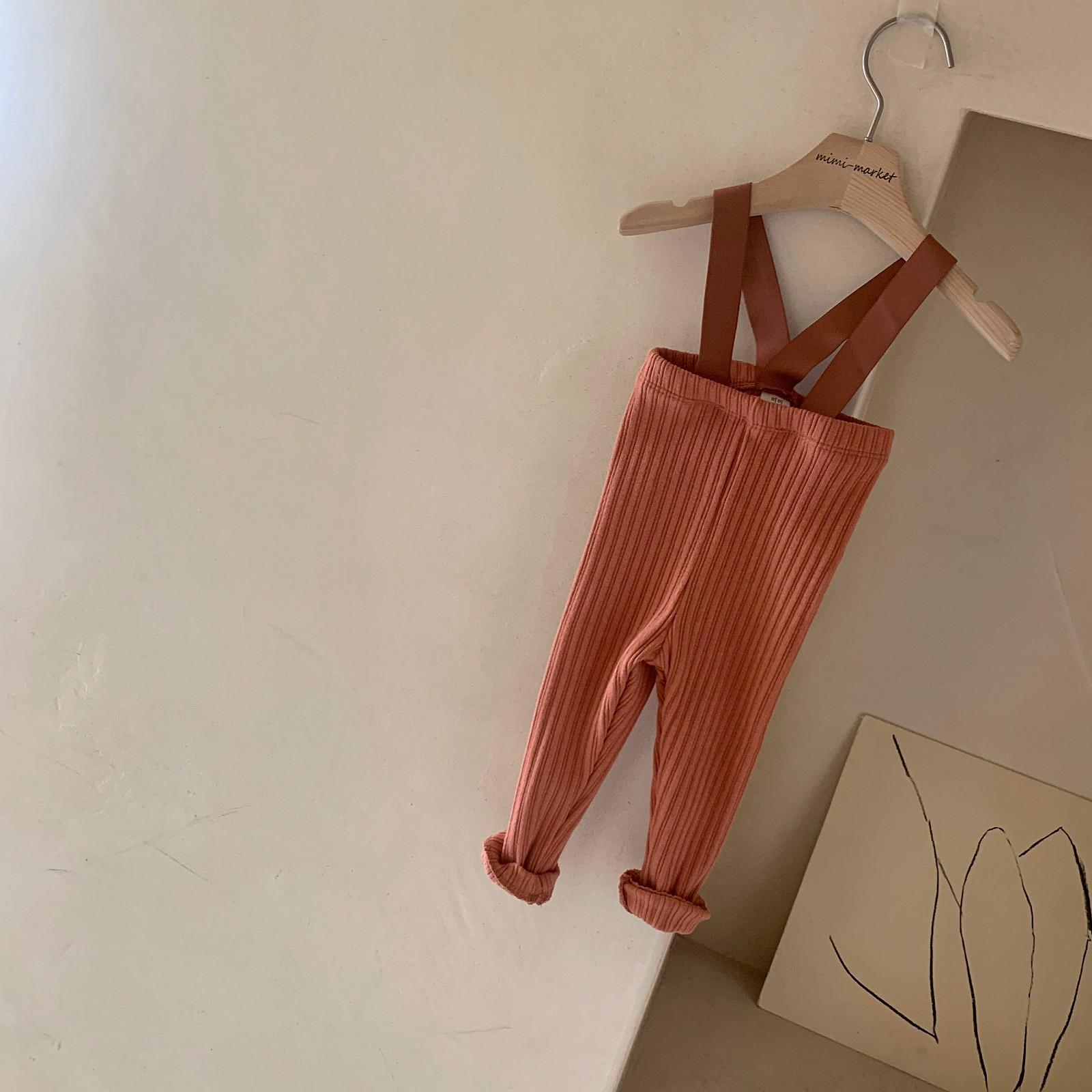 MIMI MARKET - Korean Children Fashion - #Kfashion4kids - Cozy Suspender Pants - 9