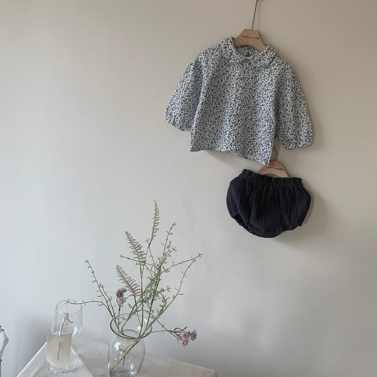 MIMI MARKET - Korean Children Fashion - #Kfashion4kids - Franc Blouse Bloomer Set - 2