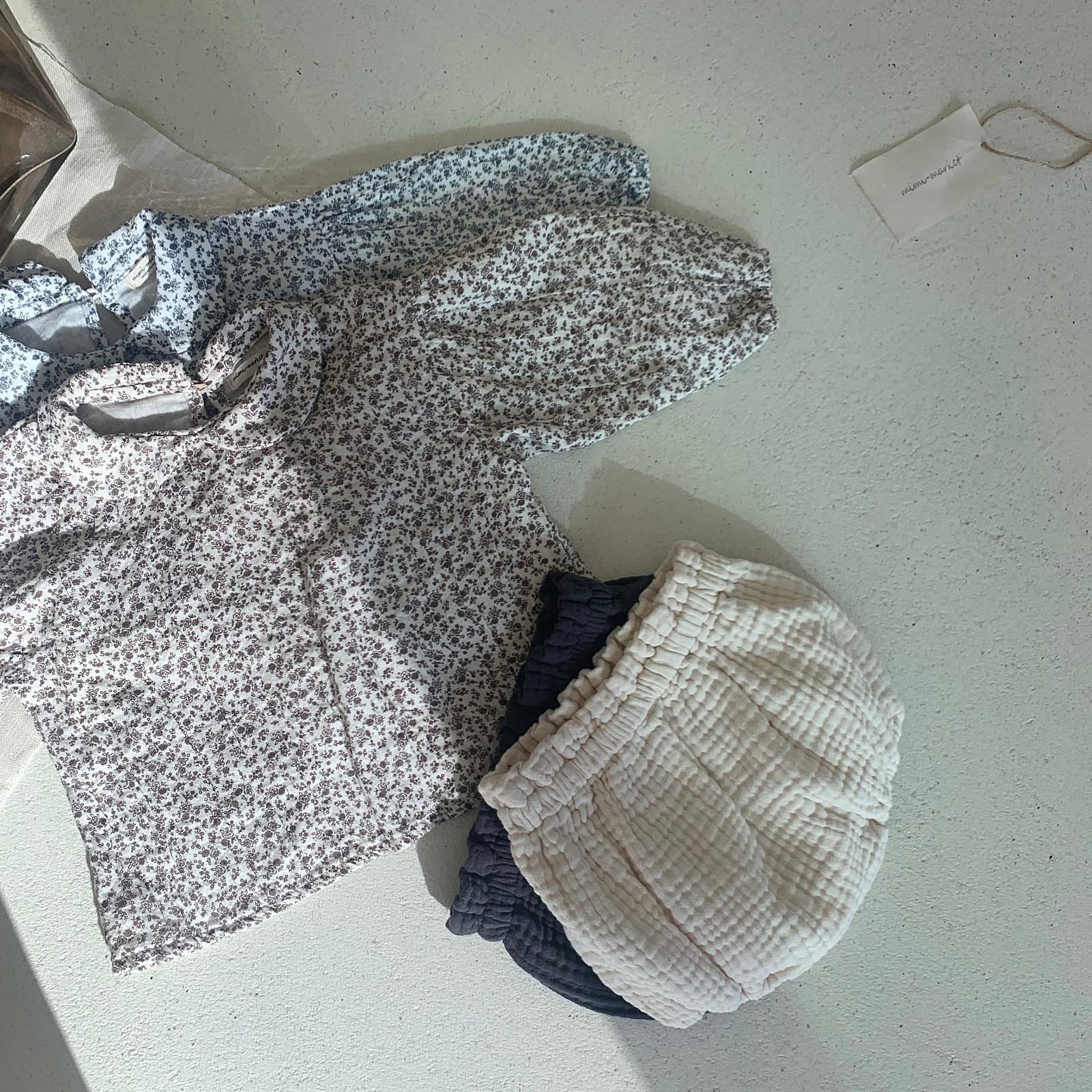 MIMI MARKET - Korean Children Fashion - #Kfashion4kids - Franc Blouse Bloomer Set - 6