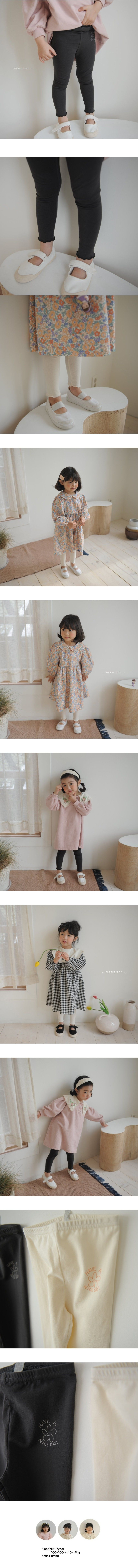 MOMO ANN - Korean Children Fashion - #Kfashion4kids - Nice Leggings - 2
