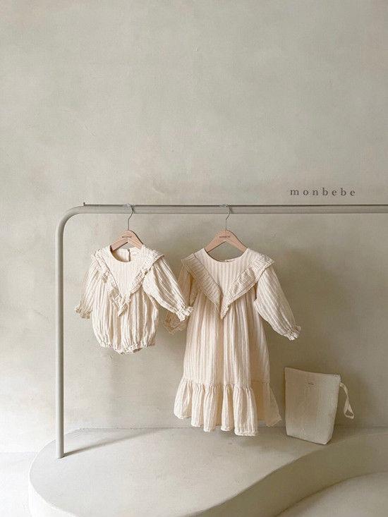 MONBEBE - Korean Children Fashion - #Kfashion4kids - Isabel Bodysuit - 3
