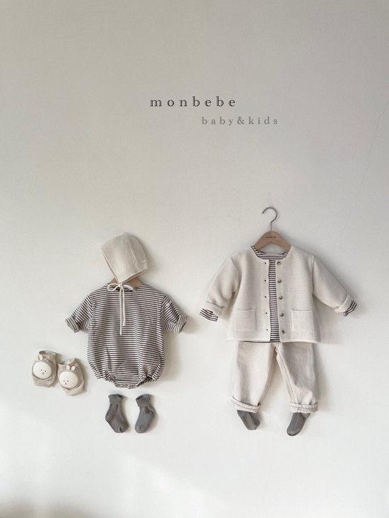 MONBEBE - Korean Children Fashion - #Kfashion4kids - Saint Romper - 10