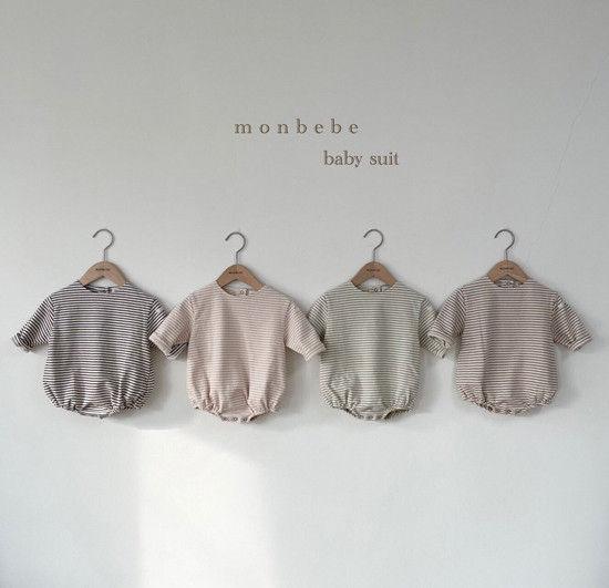 MONBEBE - Korean Children Fashion - #Kfashion4kids - Saint Romper - 2