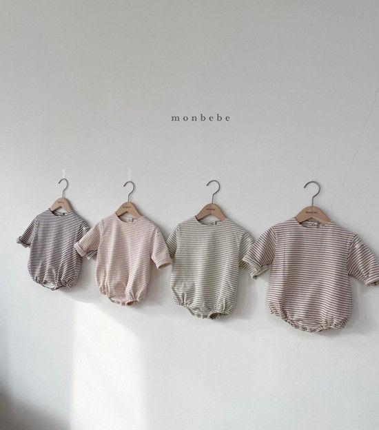 MONBEBE - Korean Children Fashion - #Kfashion4kids - Saint Romper - 5
