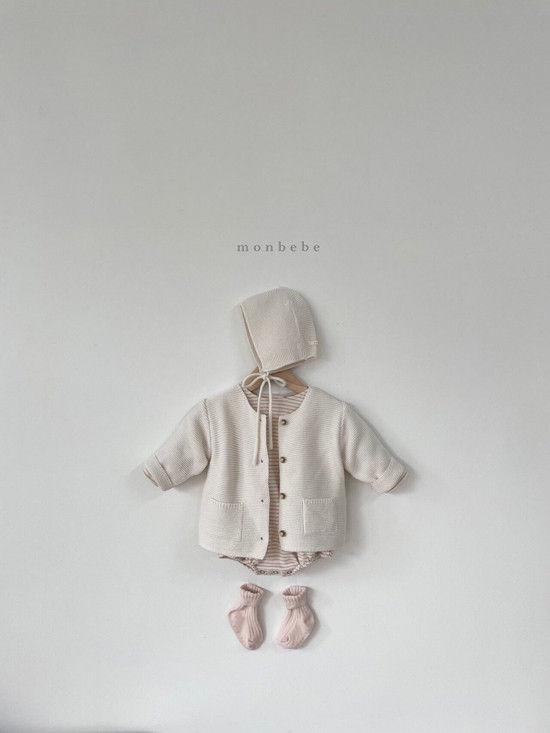 MONBEBE - Korean Children Fashion - #Kfashion4kids - Saint Romper - 7