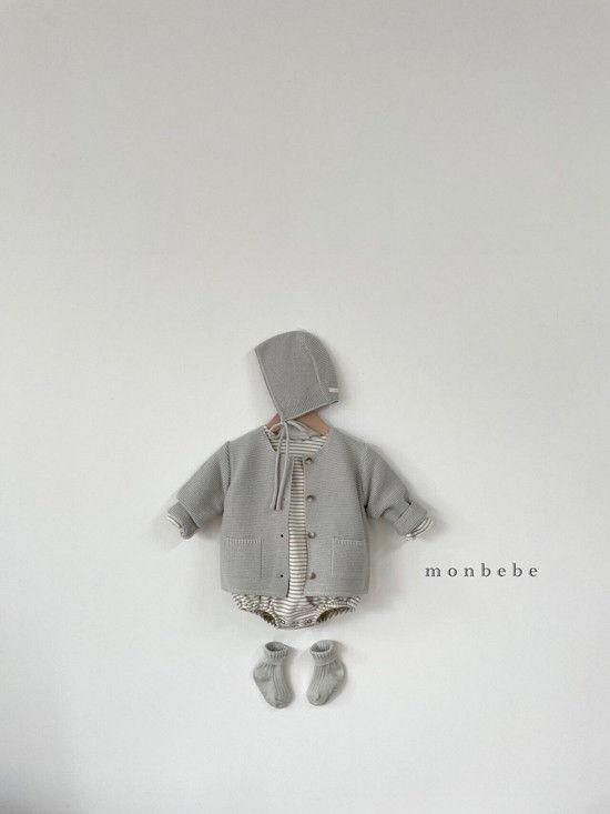 MONBEBE - Korean Children Fashion - #Kfashion4kids - Saint Romper - 9
