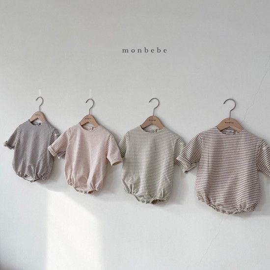 MONBEBE - BRAND - Korean Children Fashion - #Kfashion4kids - Saint Romper