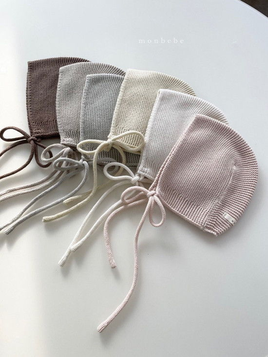 MONBEBE - Korean Children Fashion - #Kfashion4kids - Caramel Bonnet - 3