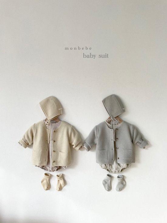 MONBEBE - Korean Children Fashion - #Kfashion4kids - Caramel Bonnet - 4